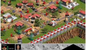Меню игры Age of Empire