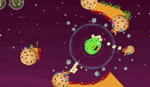 Геймплей Angry Birds Space