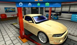Меню игры Car Mechanic Simulator 2014