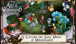 Disney Alice in Wonderland для планшета