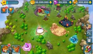 Dragons World для Android