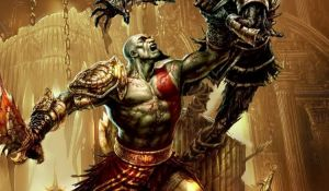 Меню игры God Of War