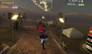 Меню Hardcore Dirt Bike 2