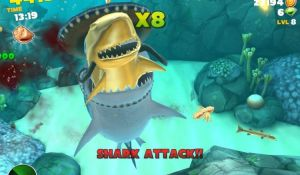 Hungry shark для android