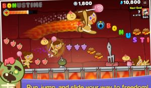Меню игры LINE COOKIE RUN