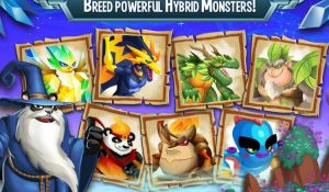 Меню игры Monster Legends