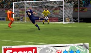 Меню игры Score World Goals
