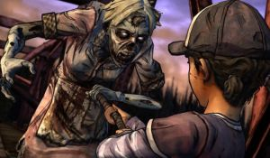 Меню игры The Walking Dead Season Two