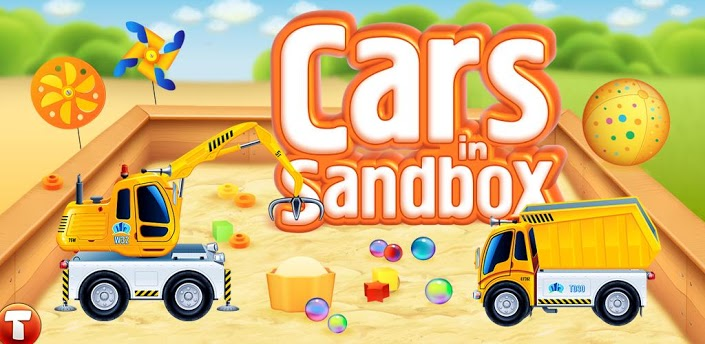 Cars in sandbox: Construction