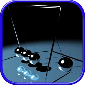 Screen Toy: Newton's Cradle