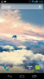 Gliders in the sky LWP 3D