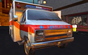 Ambulance Gun Run Racing 3D
