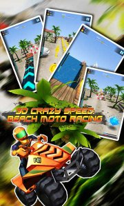 3DCrazySpeed: BeachMoto Racing