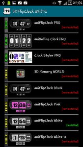 3D Animated Flip Clock PRO