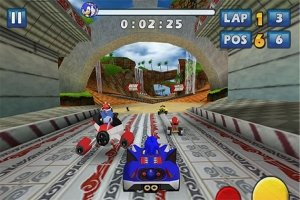 Sonic & Sega: All Stars Racing Transformed на Android