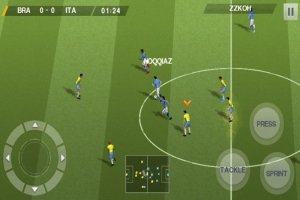 Real Football 2015 на Android