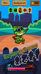 Change Man Super Hero Game