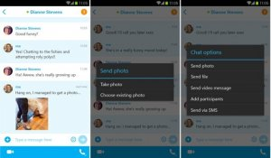 � Skype ��� Android ����� �������� ������-�������� �����������