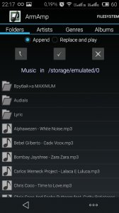 ArmAmp Music Player