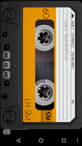 Retro Tape Deck mp3 player