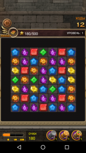 Jewels Temple Quest: Match