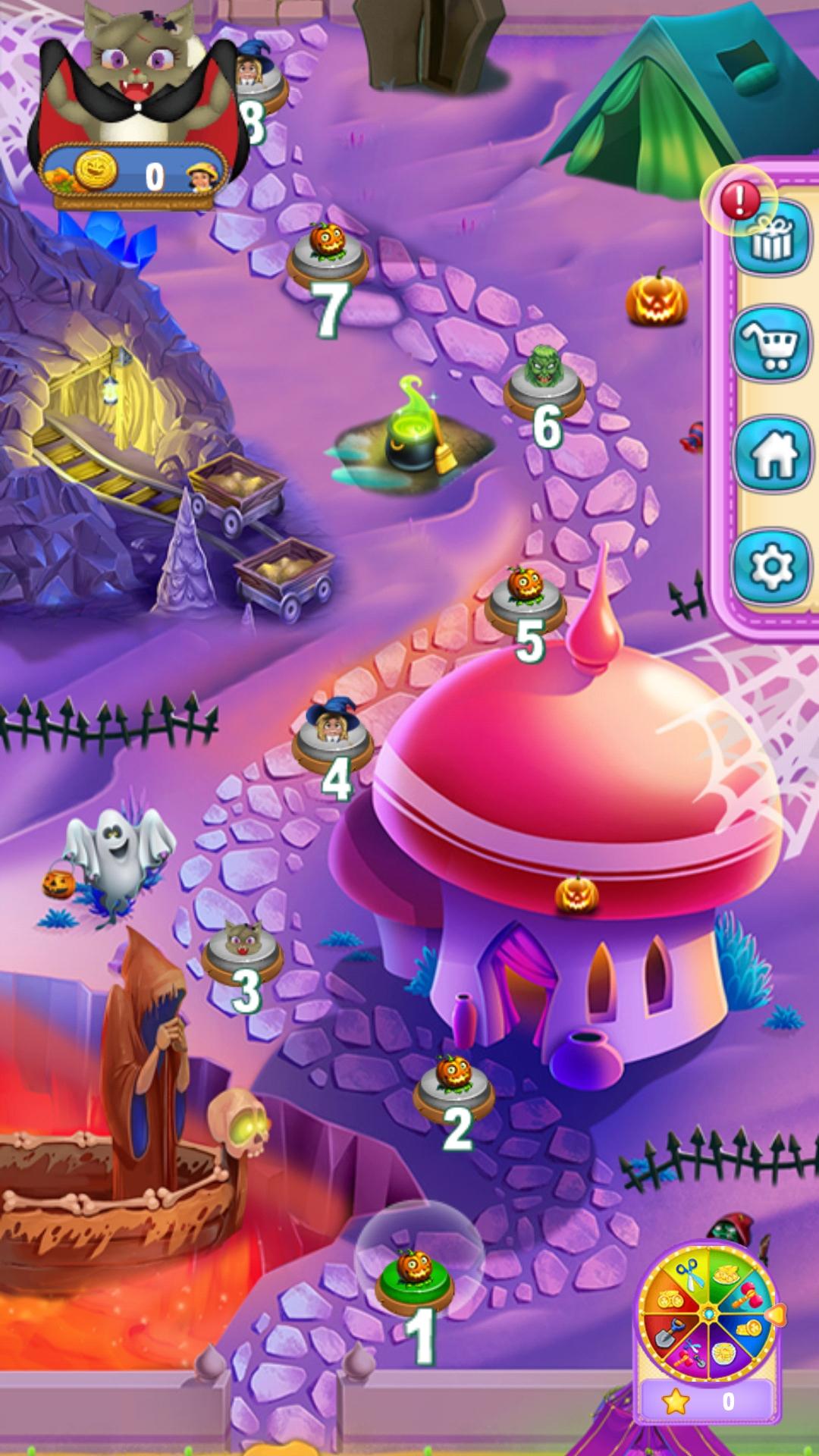 Скачать игру Halloween Witch - Fruit Puzzle на андроид ...