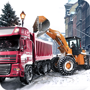 Loader Dump Truck Winter