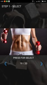 Fitness Model. Smart Wallpaper