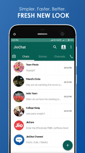JioChat: HD Video Call