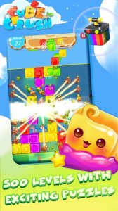Cube Crush: Collapse & Blast Puzzle Game