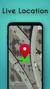 Live Location Navigation Map