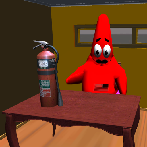 Patrick Star. Sponge's Neighbor of Bob 3D