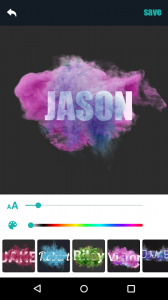Smoke Effect Name Avatar