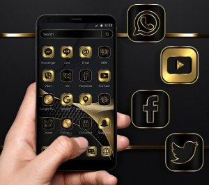 Luxury Golden Black Business Theme