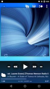 Poweramp - пробная версия
