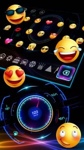 Racing Car Hologram Keyboard