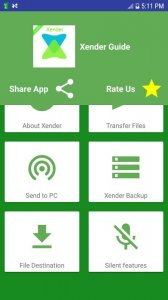 Xender file transfer and sharing guide 2018
