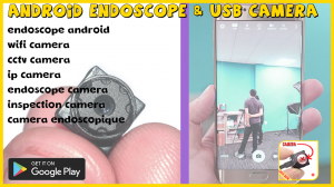 Endoscope android & USB camera webcam test (beta)
