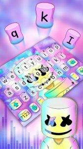 Тема для клавиатуры Dj Galaxy Cool Man