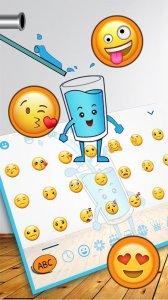 Happy Glass Keyboard