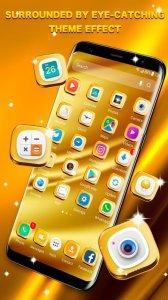 Golden Launcher for GALAXY Phone