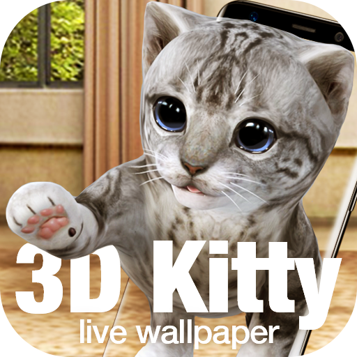 Kitty & cat live wallpaper