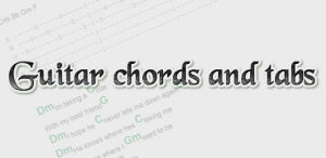 Guitar chords and tabs
