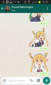 SethDistro Anime Whatsapp Stickers 1