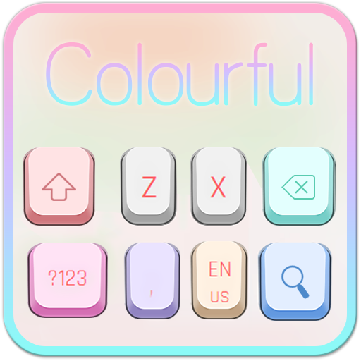 Colorful Simple Keyboard