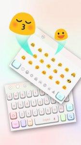 Colorful Simple Keyboard