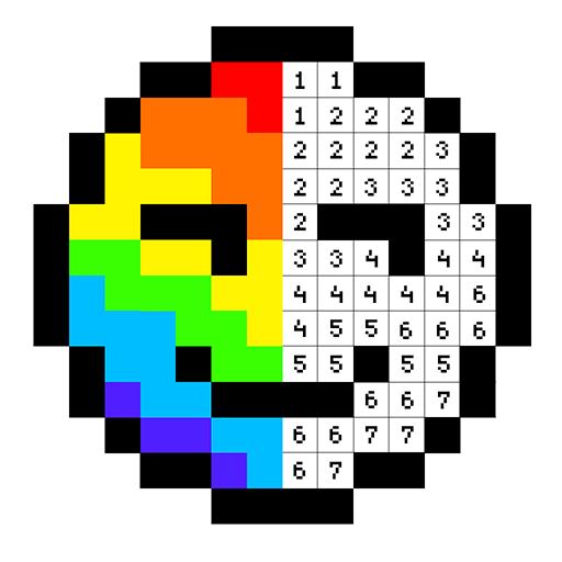 Pixel Artist: Цветной номер, Pixel Coloring Book