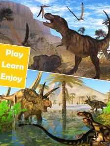 Пазлы с динозаврами