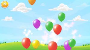 Лопаем шарики! Игра для детей.