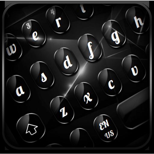 Cool Glossy Black Keyboard